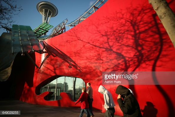 The Experience Music Project in Seattle.