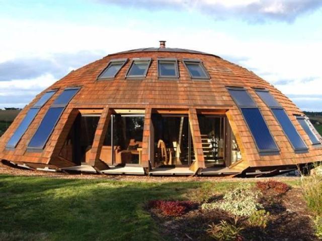 maison bois tournante