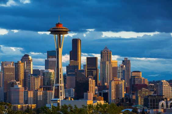 Kerry Park Seattle's Skyline, Seattle, WA