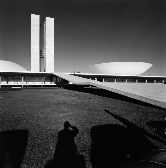 Palácio do Congresso Nacional. Brasília, 1960. Foto: Marcel Gautherot/IMS
