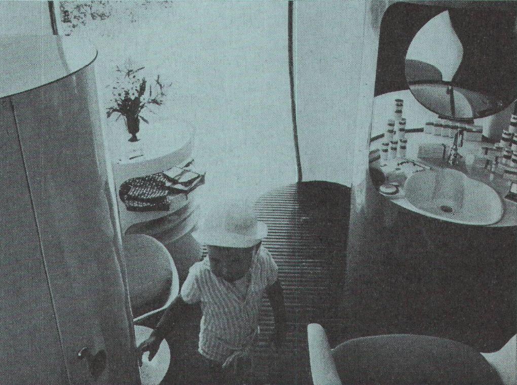 버블 여섯 쉘 Prisunic 오렌지 – 진 벤자민 Maneval 1967  BubbleMania