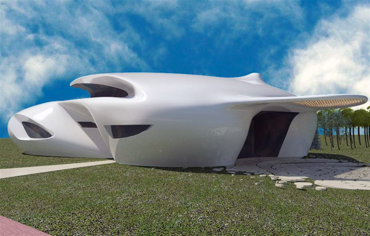 Futuristic House Bubbles Architecture Maison Biomorphique 20072014 Israel